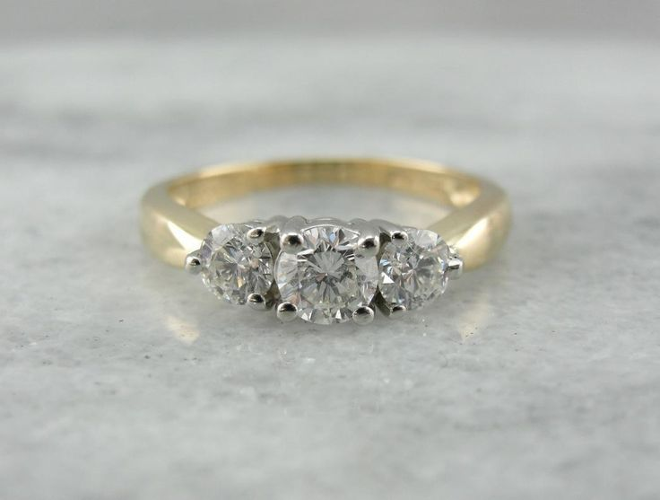 Past, Present, and Future, Classic Engagement Ring