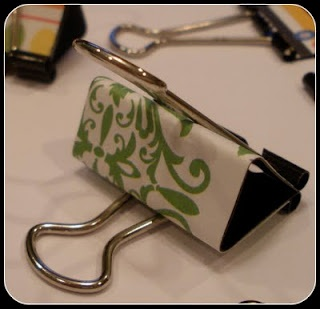 decorated binder clips
