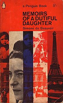 memoirs of a dutiful daughter by simone de beauvoir