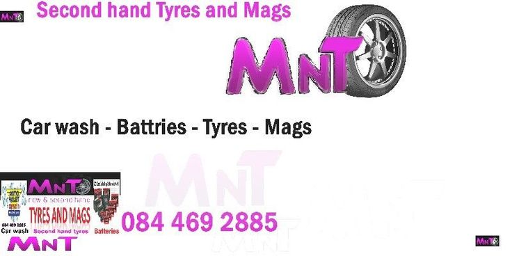 At magntyre warehouse we sell very good second hand tyres,from Run Flats to Bakkie tyres to smaller cars. Any Sizes, Any Brands, Tyres65-70% tread. If we don't have what you need, we will get it for you!!! 255 55 19 MAGS AND TYRES IN VERY GOOD CONDITION FOR BOTH CARS AND BAKKIES FROM RUNFLATS TO NORMAL. Call Lawrence at 0625547113