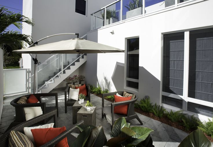 Modern Outdoor Furniture Miami Amusing Inspiration
