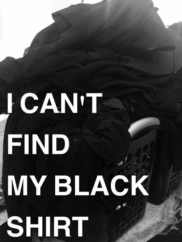theblogginggoth: prettypantyparty: Goth girl problems Goth problems, period!