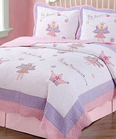 Look What I Found On Zulily Princess Crown Quilt Set
