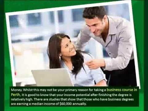 The Importance of Studying Business Course in Perth - YouTube