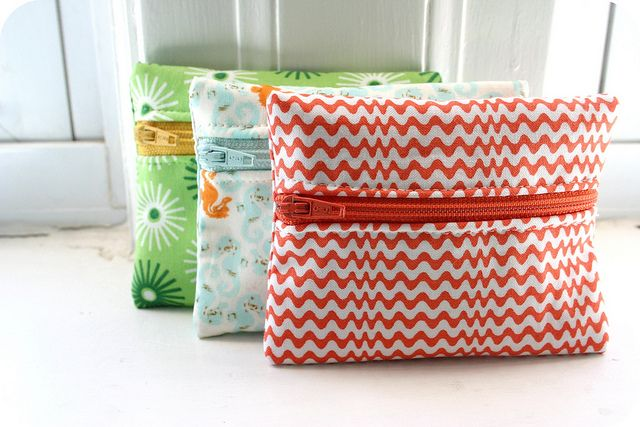 DIY: coin purseSimple Sewing, Sewing Projects, Coins Purses, Simple Things, Purses Tutorials, 10 Simple, Coin Purses, Port Monnaie, Purses Minis Tutorials