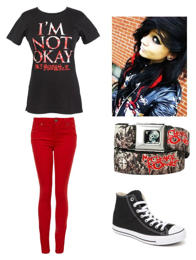 My Chemical Romance emo outfit by amberpend on Polyvore featuring polyvore,  fashion, style,