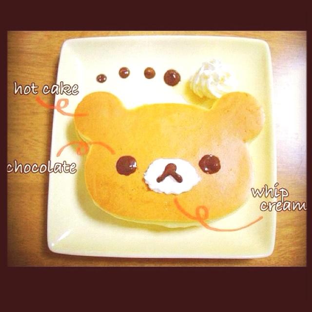 Bear Pancake