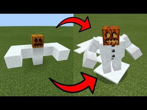 How To Spawn a GIANT MAGMA GOLEM in Minecraft PE - YouTube