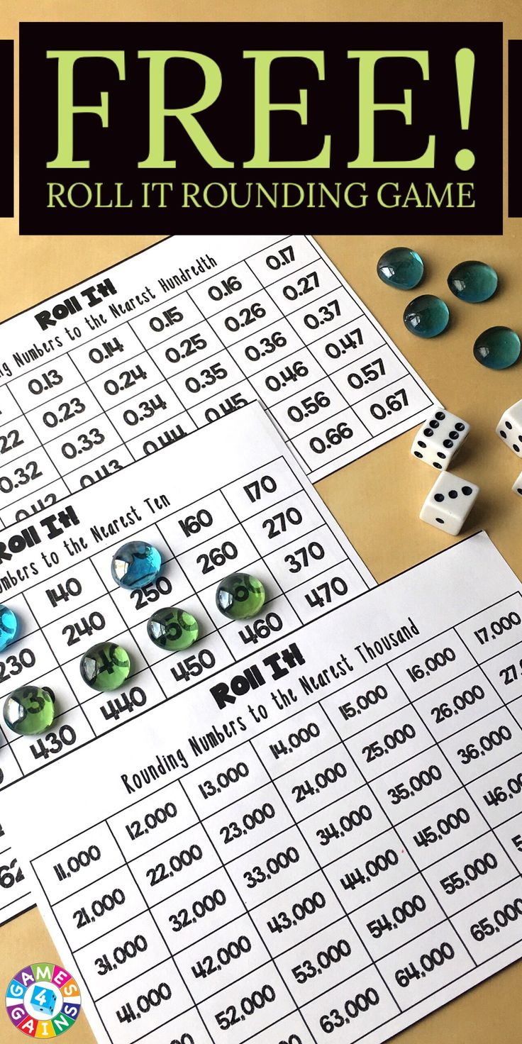 This twist on a popular game requires students to round numbers while using their critical thinking skills!