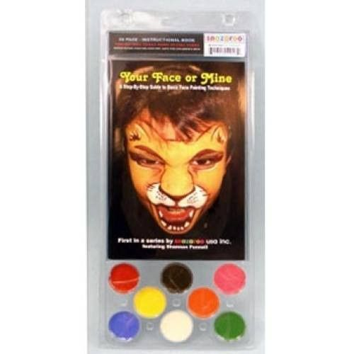 Snazaroo Your Face or Mine Face Painting Kits (8 Colors)