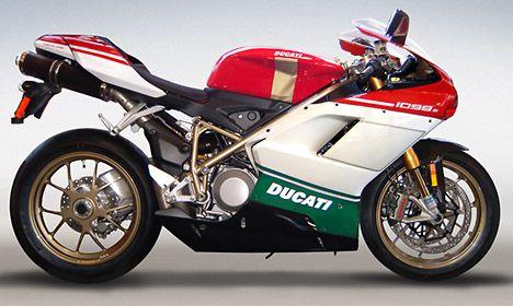 2007 Ducati 1098 S Tricolore