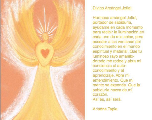 Oración al Arcángel Jofiel.
