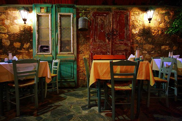 Visit a small tavern in #Chania and get to know the locals! #Winter #Crete