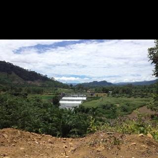 Dam of Batang Tongar, Pasaman Barat, West Sumatera