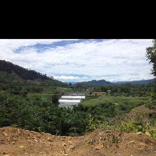 Dam of Batang Tongar, Pasaman Barat, West Sumatera