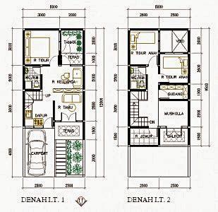 50+ contoh gambar denah rumah minimalis terbaru 2019 di