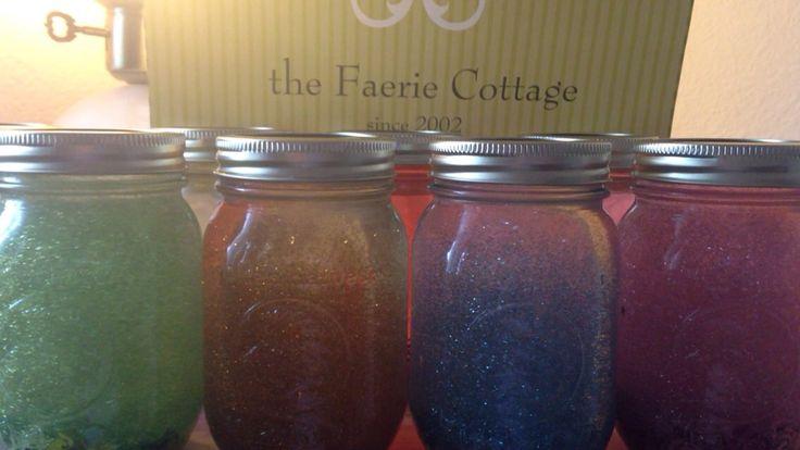 Faerie Cottage Since 2002  ✨ New Faerie Glitter Calming Jars