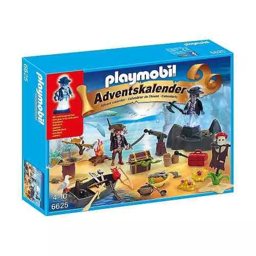 Playmobil 6625 Calendario Isla Del Pirata - $ 1.399,99