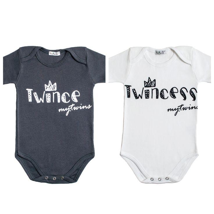 Σετ φορμάκια από τη συλλογή MyTwins με τυπώματα Twince και Twincess.