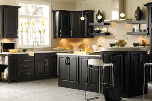 Distressed Black Kitchen Cabinets 28+ [ distressed black kitchen cabinets ] | distressed black