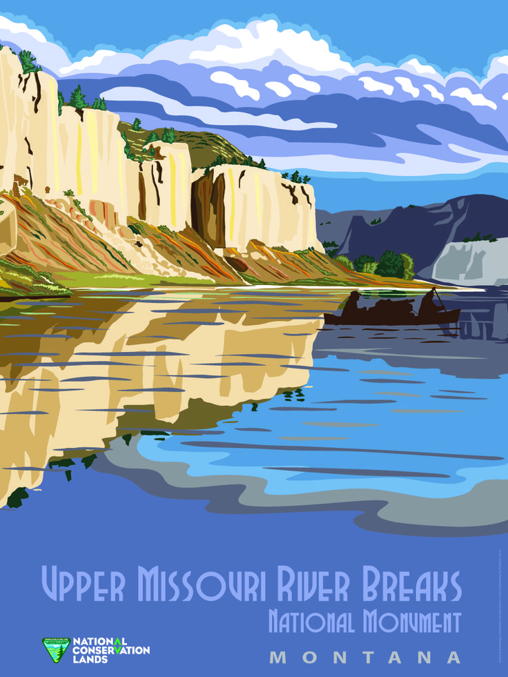 Upper Missouri River Breaks National Monument in Montana