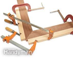 Miter clamping