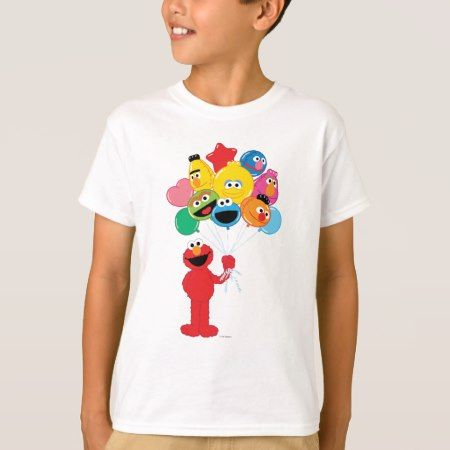 Elmo Balloons T-Shirt - tap, personalize, buy right now!