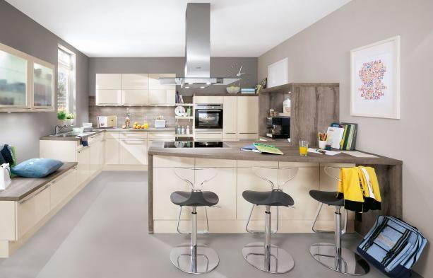 13 best Küchen images on Pinterest Kitchen, Kitchen designs and - Wandfarbe Zu Magnolia Fronten