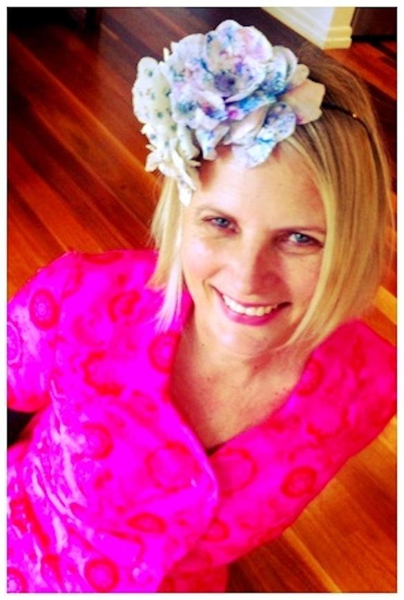 Bloom'n lovely!!  Chelsea Flower Show Crown by Lynda Holt