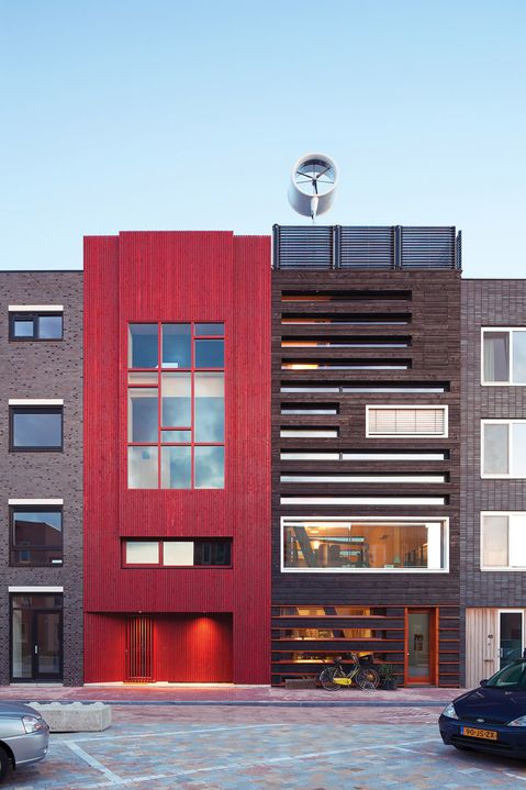 TOWNHOUSE: Charred Wood Facade in Amsterdam. 1/14/2012 via @Dwell Media: New Home, Architects, Wood Side, Houses 2 0, Wood Facades, Modern Houses, Charli Wood, Design, Wood Houses