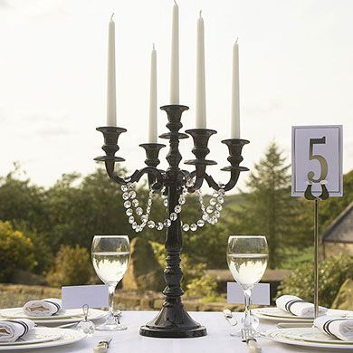102 best art deco gatsby black and white images on for Black table centrepieces