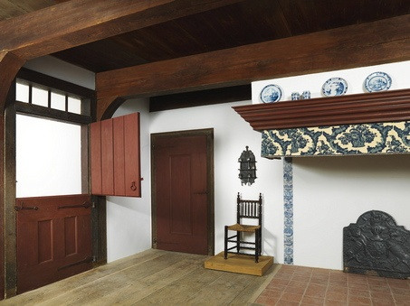 Early American interior