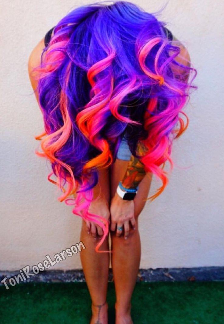Best 10+ Unnatural hair color ideas on Pinterest   Hair dye colors ...