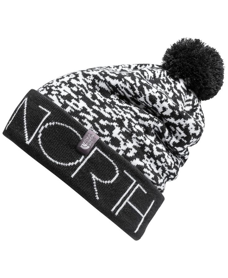 A pom-pom adds a fun finish to this classic ski hat from The North Face, featuring a slouchy fit and striking style on or off the slopes. | Acrylic/elastane | Machine washable | Imported | Deep, slouc