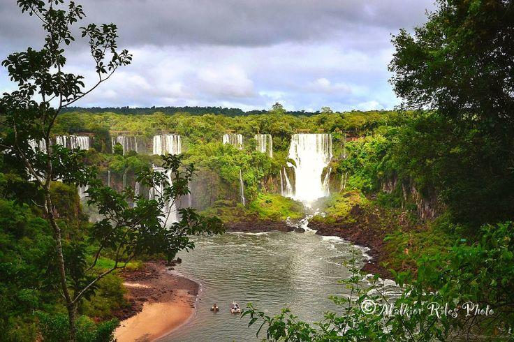 Malkior Riles Photographs: Cataratas de Iguazu. Lado Brasileño