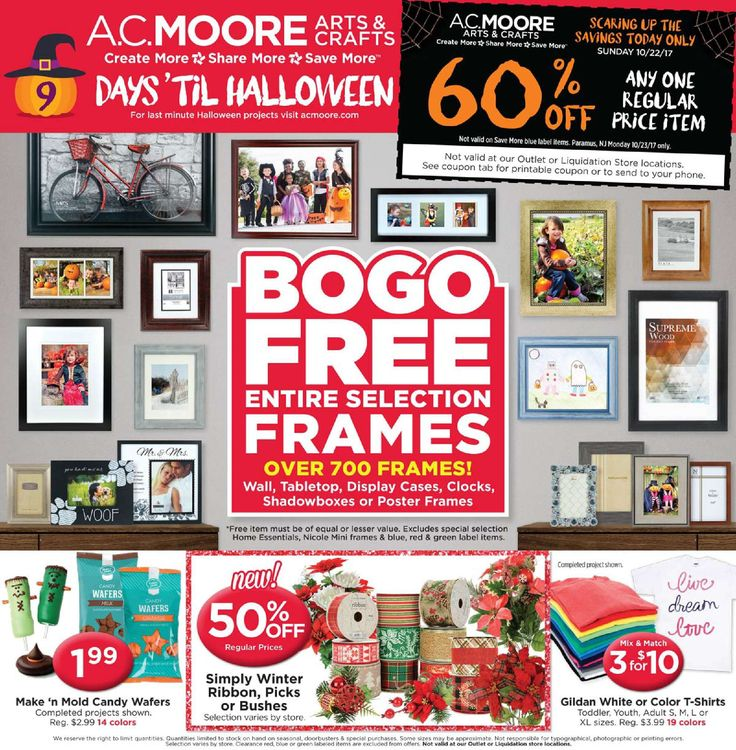 AC Moore Weekly Ad October 22 - 28, 2017 - http://www.olcatalog.com/home-garden/ac-moore-weekly-ad.html