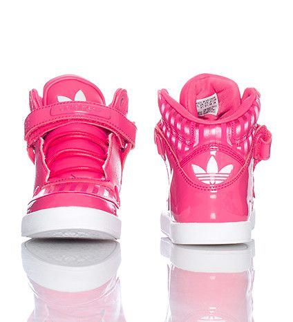 all pink high top adidas