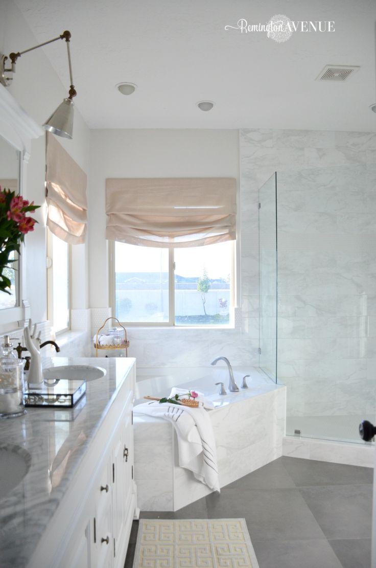 Master Bathroom Design Ideas: Best 25+ White Master Bathroom Ideas On Pinterest