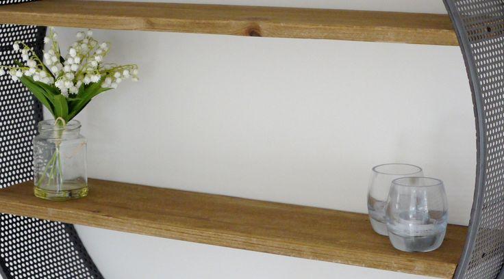P es 1000 n pad na t ma etagere murale bois na pinterestu for Petite etagere murale bois