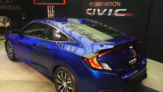 Купе Honda Civic Coupe / Хонда Сивик Купе