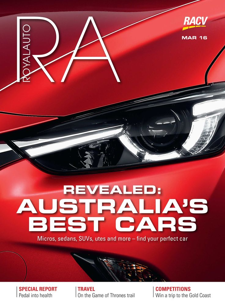 RoyalAuto March, 2016. Australia's Best Cars Awards 2015/2016.