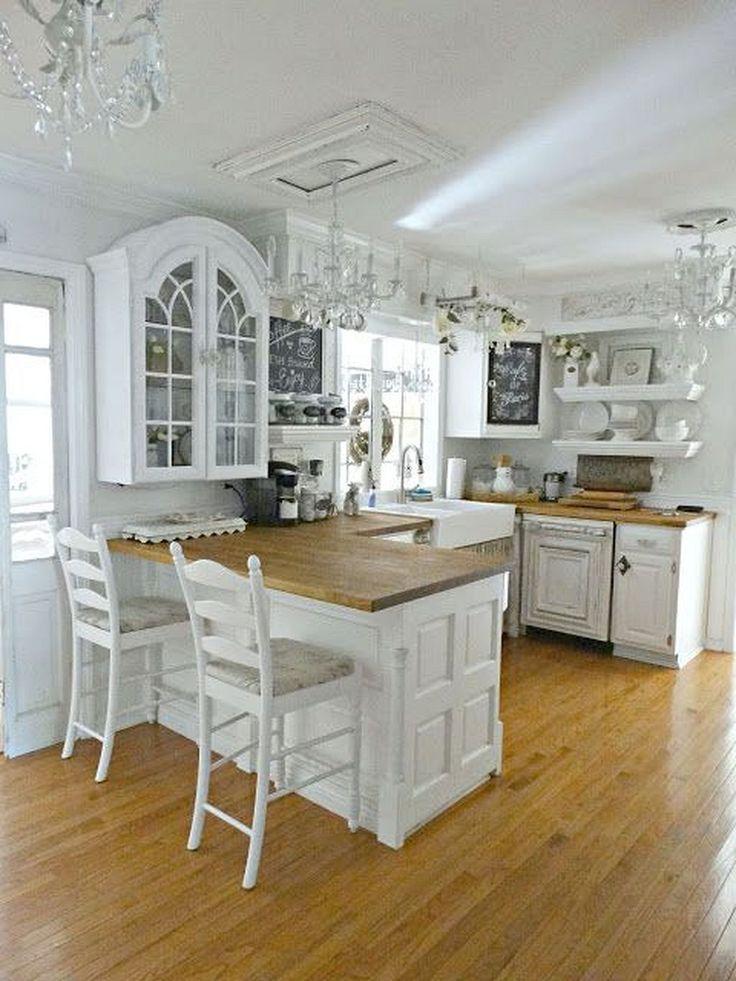 40+ Shabby Chic Kitchen Decor Ideas #shabbychiceinrichtung
