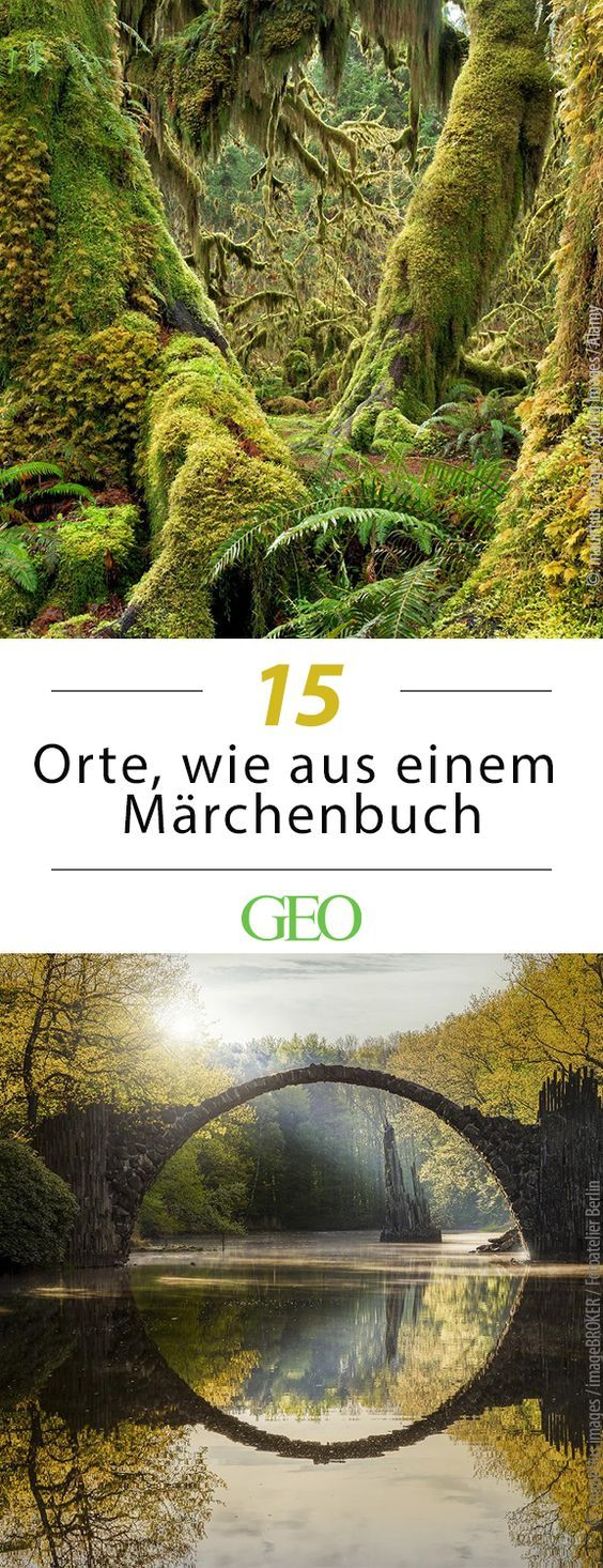 15 places that look like from a storybook   – Reiseziele