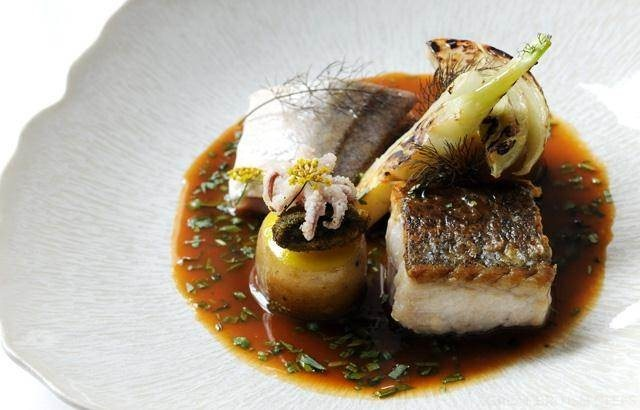 Fish stew with fillets of hake and gurnard -  Luke Holder
