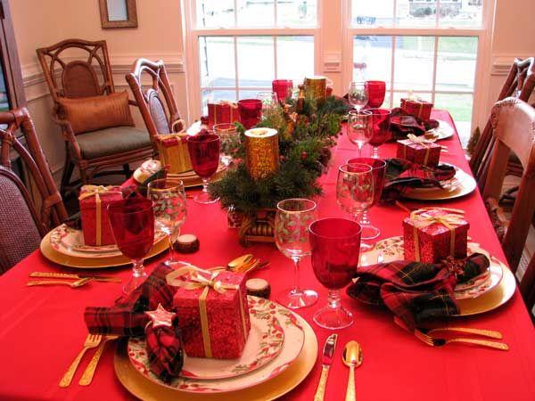 Como Decorar A Mesa De Natal Gastando Pouco Blog Casa Da Iaza Mesas De Jantar De Natal Montagem De Mesa De Natal Decoracao Mesa De Natal