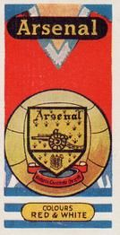1958 Football Clubs and Badges #7 Arsenal Front