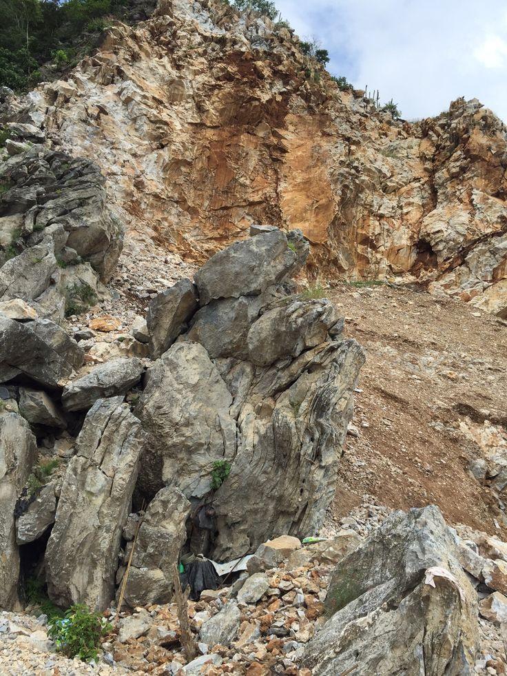 Cantera de marmol gris Autlan