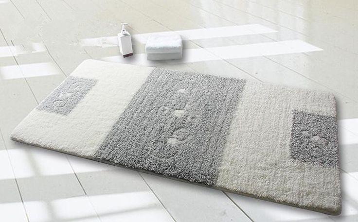 Elegant High-quality Polyester Door Mat Bathroom Rug DA6484-1-Wholesale Faucet