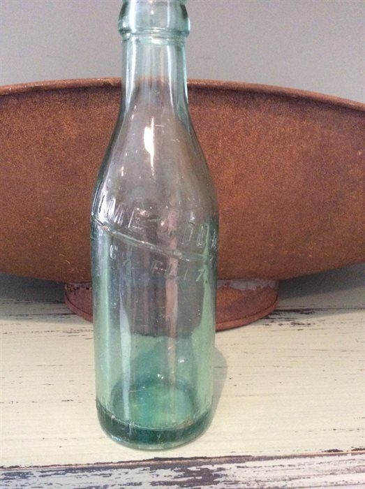 Antique Glass Soda Bottles