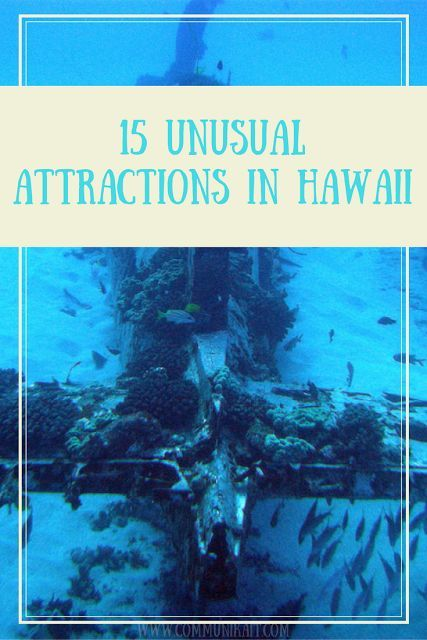 15 Unique Places In Hawaii